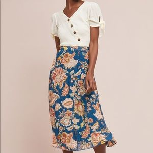 Anthropologie Akemi+Kin Size S Laurel Canyon Skirt